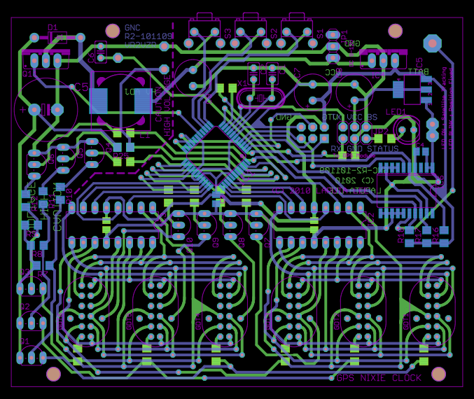 Generating Gerber Files To Pcb on electronic tube circuits