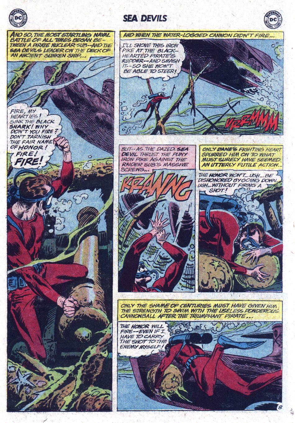 Read online Sea Devils comic -  Issue #13 - 11