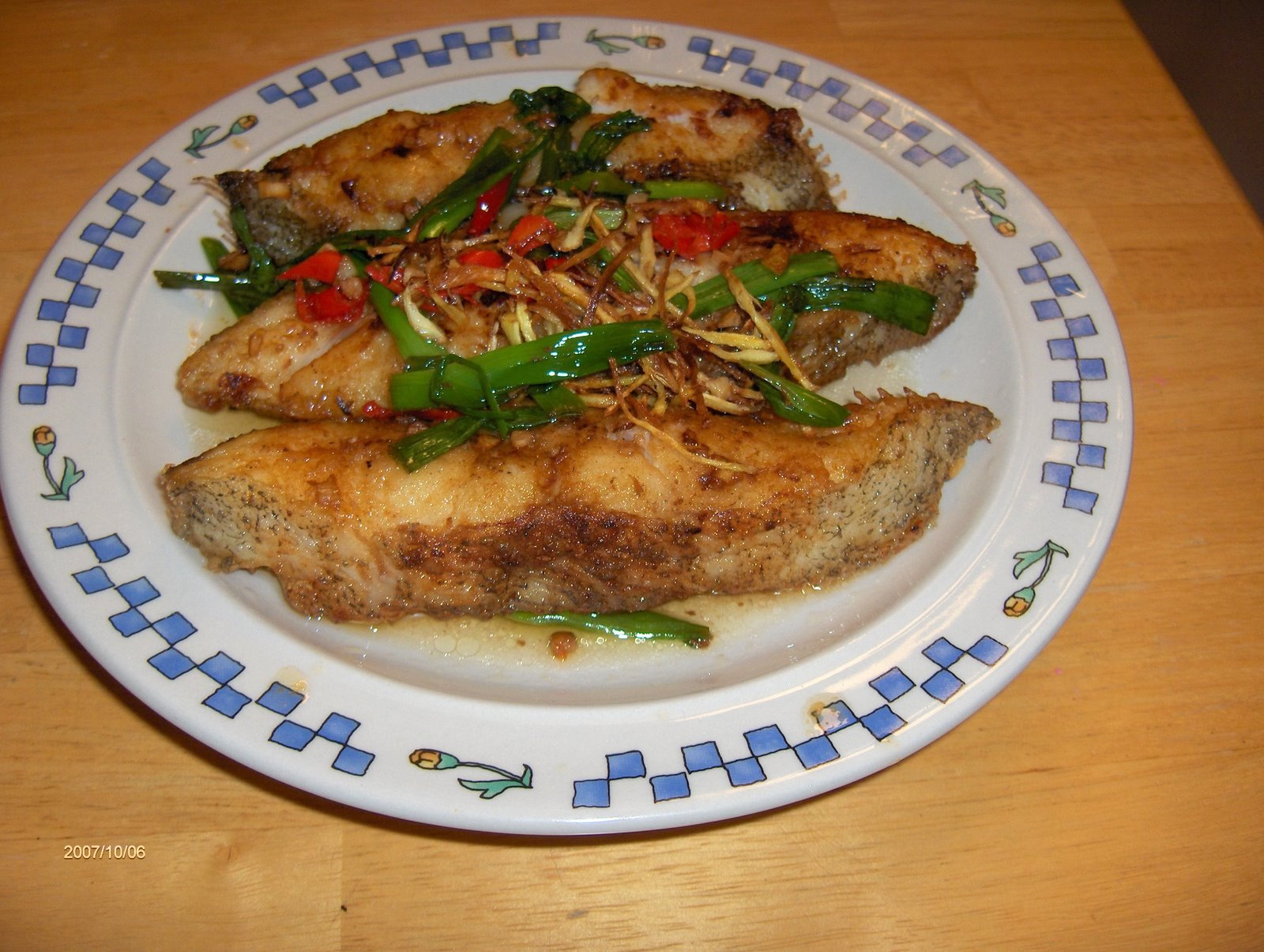Little bellevue kitchen pan fried cod fish steak for How to cook cod fish in a pan