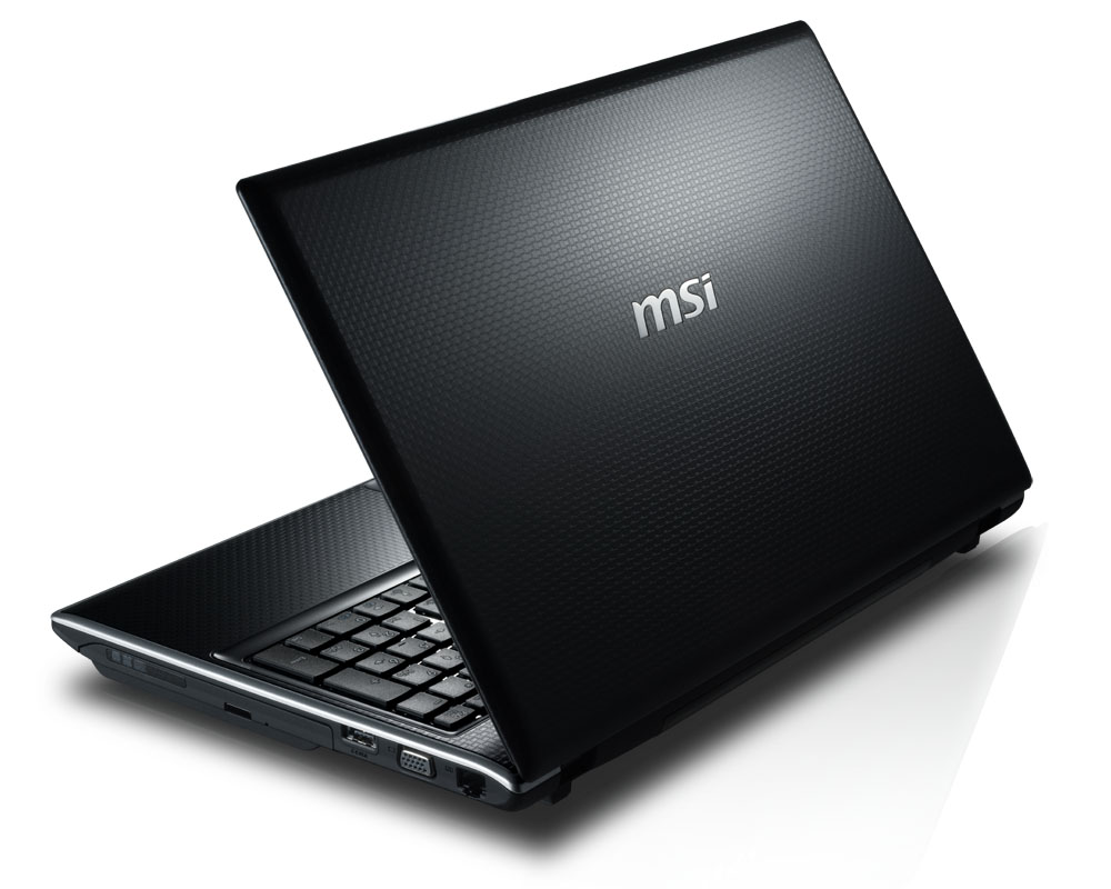MSI FR600 Specifications Laptop Specs