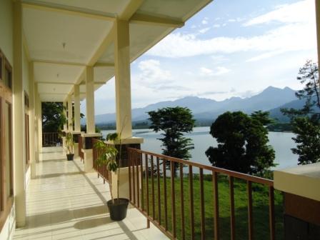 View dari Widya Tirta Hall