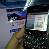 Aplikasi BlackBerry untuk Pantau Merapi