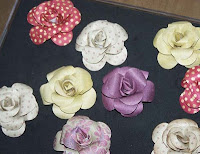 Paper roses tutorial by Nathalie