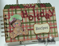 Holiday Cookbook by Mary