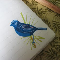 Bluebird Note Pad
