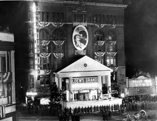 El Loew's Grand de Atlanta, la noche del estreno de GWTW