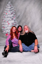 Myself, 'B' and Ed--X-mas '08