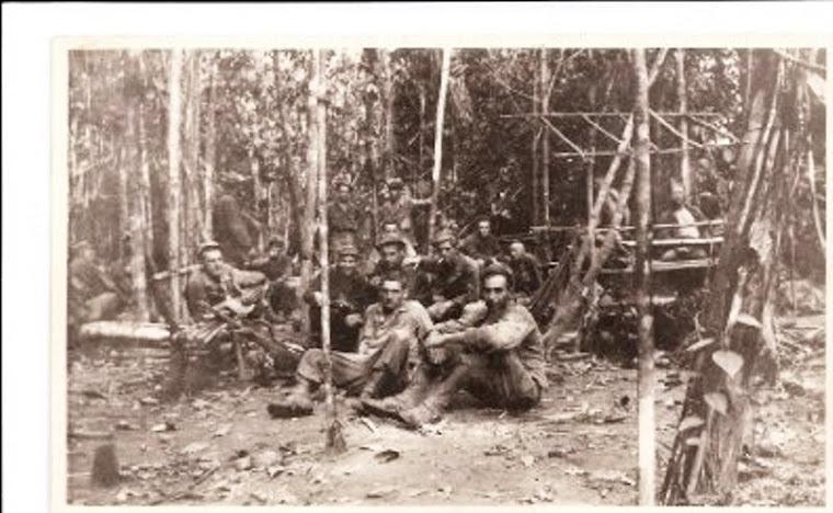 Al Braun with Squadron - New Caledonia 1944