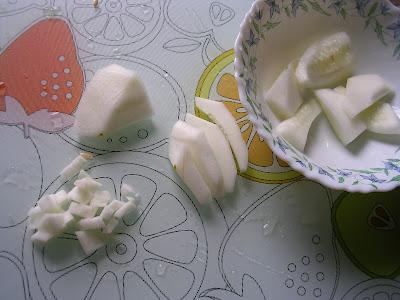 microwave kerala recipe Cucumber Pachadi
