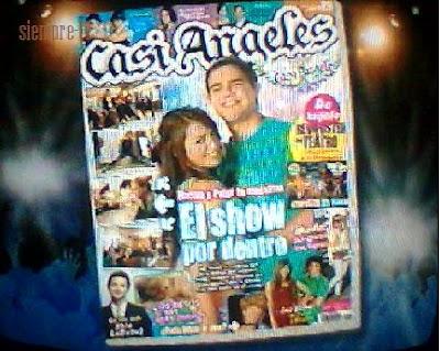 la nueva revista de casi angeles agosto de regalo un album de fotos de ...