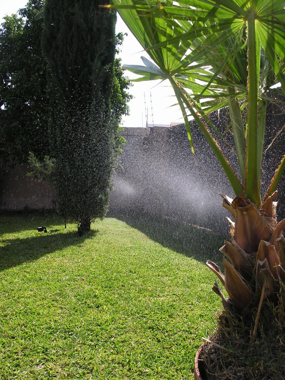 riego automatico para jardines