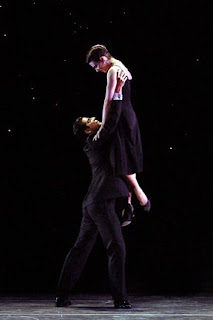 Luciana Paris and Marcelo Gomes in Sinatra Suite