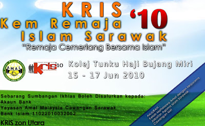 Kem Remaja Islam Sarawak '10 Zon Utara