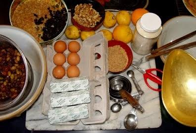 Theodora Fitzgibbon Christmas Cake