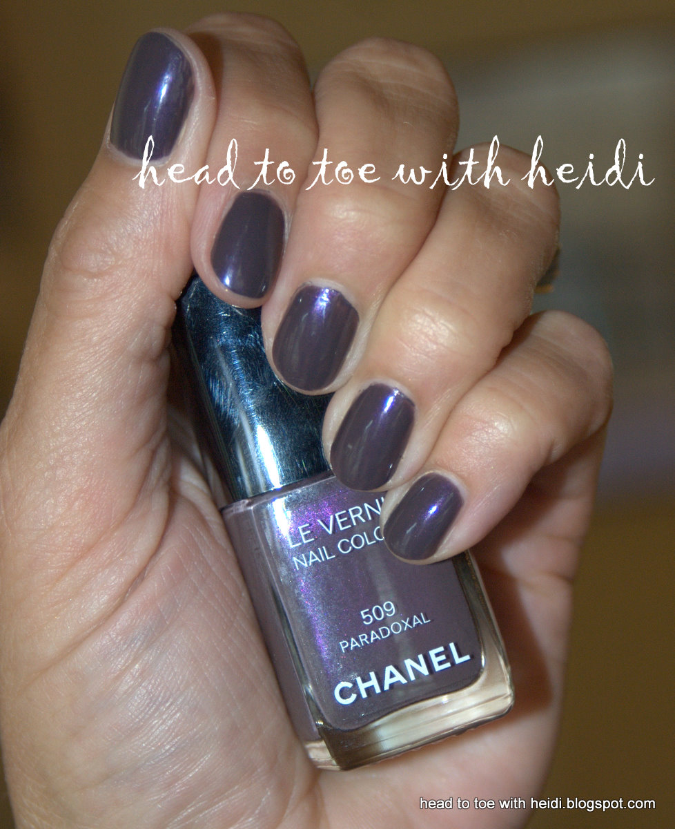 Head to Toe with Heidi: Nail Files - Fall 2010 - Chanel Paradoxal ...