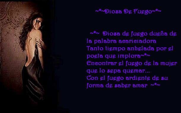 ~*~  DIOSA DE FUEGO ~*~
