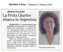 Antonella Prota Giurleo - Giornale