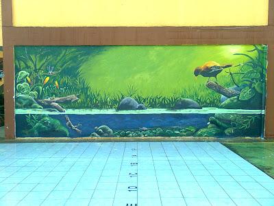 Mural 2009 day 3 4 and siap akhirnya for Mural yang cantik