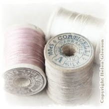 Vintage silk threads