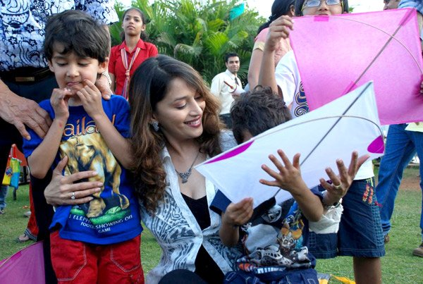 Madhuri Dixit Mene With Her Kids | Exclusive Pics