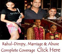 Dimpy Ganguly-Rahul Mahajan Wedding