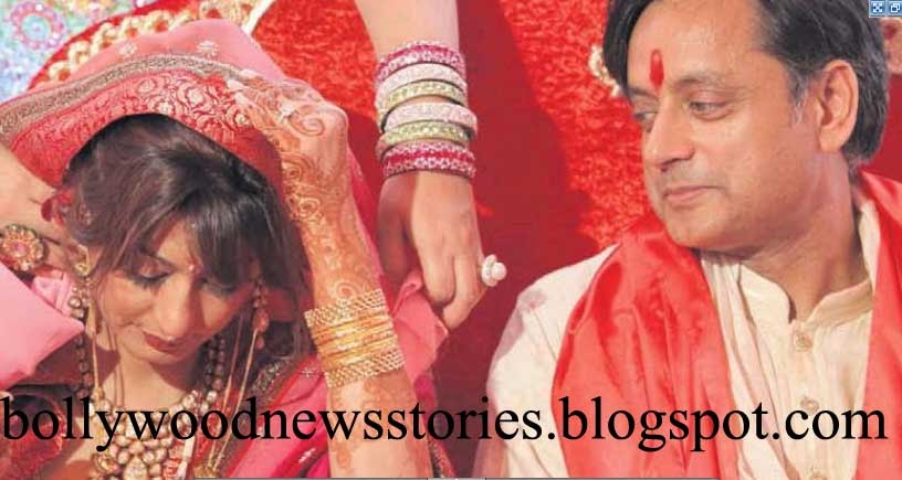 latest news shashi tharoor dubai wedding pictures with