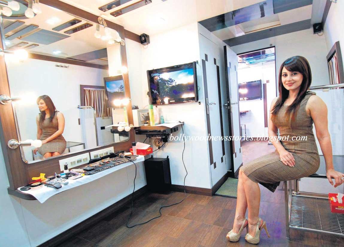 Vanity Van Of Katrina Kaif Her Comfort Vanity Van