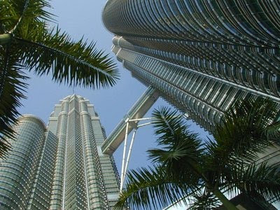 of Petronas Twin Towers on