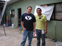 Justin w/Elder Valencia