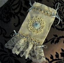 Lace Trimmed Sachet Bag