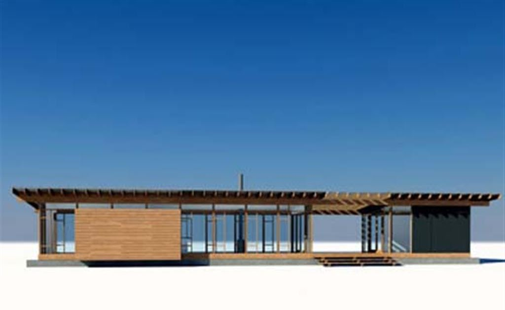 Glass and wood small house design by vandeventer for Glass house design architecture