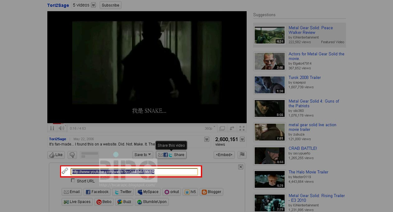 Cara Mendownload Dari Youtube, download video youtube