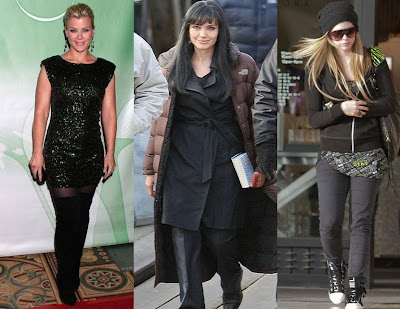Alison Sweeney Angelina Jolie Avril Lavigne fashion image