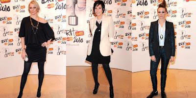 Jodie Kidd Sharleen Spiteri and La Roux Brit awards