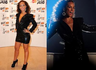 Alicia Keys Brit awards
