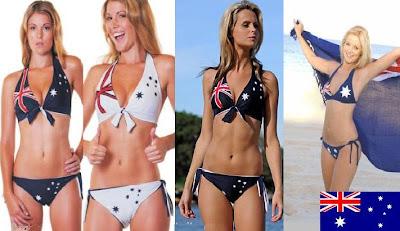 Australian Flag bikini