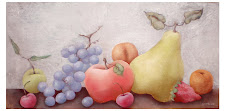 Nature morte Raisins (20x60)