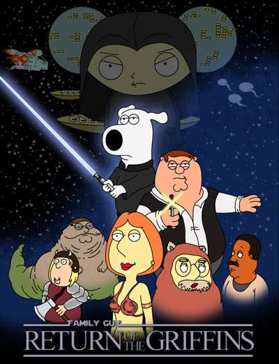 Star Wars Family Guy Meg. notice meg is dressed up as