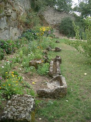 Jardim e sistema de condução de água romano - Vilar Maior