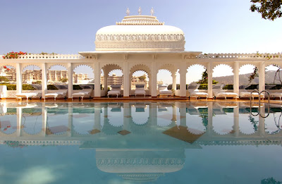 Beautiful view of Taj Lake Palace