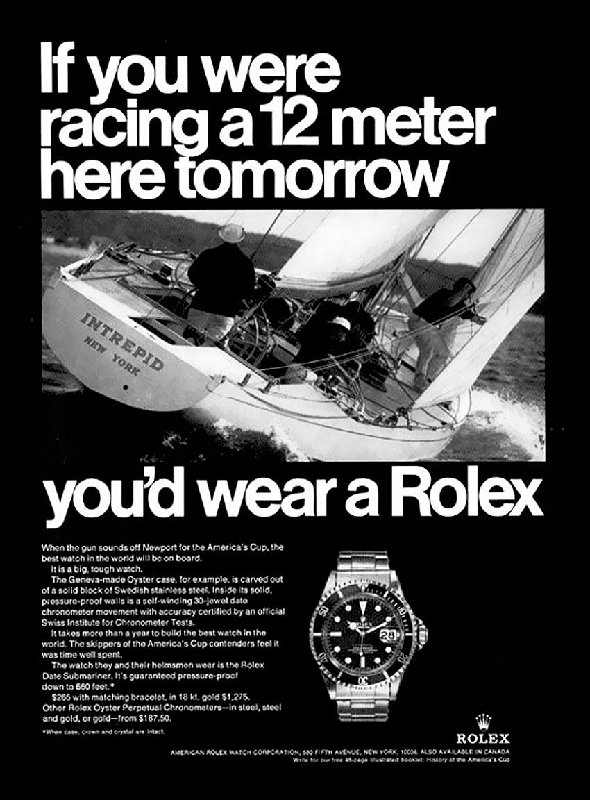 Les montres de l'America's Cup (passé / présent) 1969-Americas-Cup-Rolex