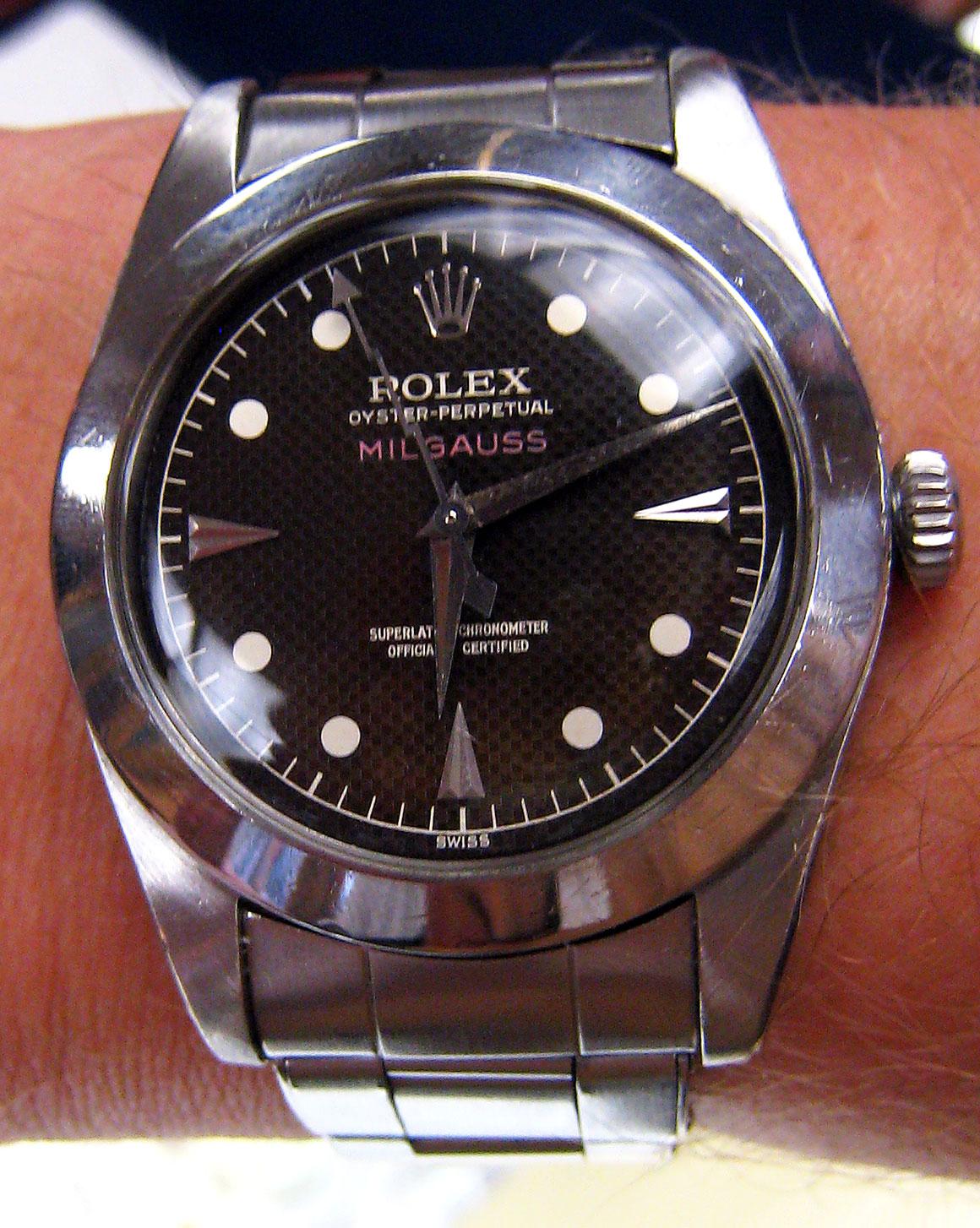 Rolex Milgauss Vintage For Sale