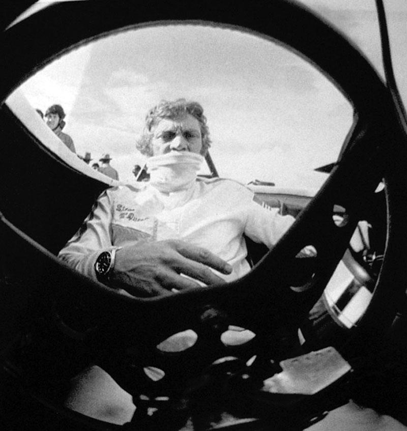 Rolex Coolness: Steve McQueen