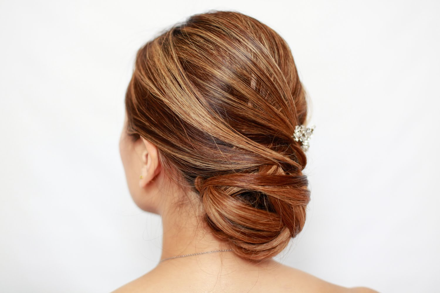 How To Do A Basket Weave Updo : Basket weave updo pdartistry professional hair and