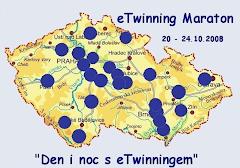 Mapa zúčastněných škol