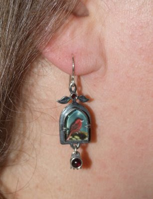 A Pair of Earrings and Southern Rose Tattoo