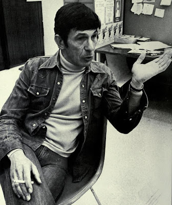 Leonard Nimoy circa 1976