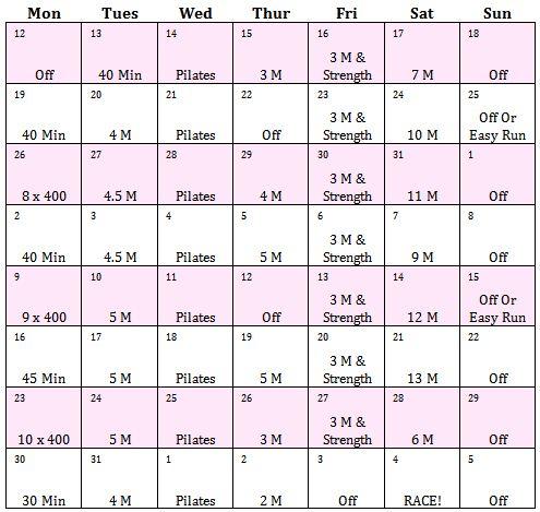 ... Half Ass to Half Marathon: Our 8 Week Half-Marathon Training Schedule