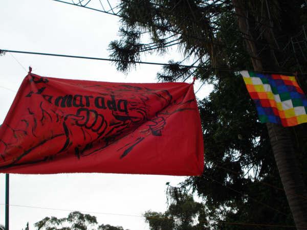 Bandera La llamarada