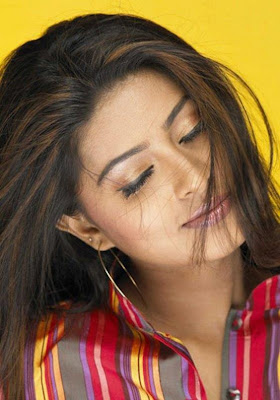 Sneha in resh shirt hot photos